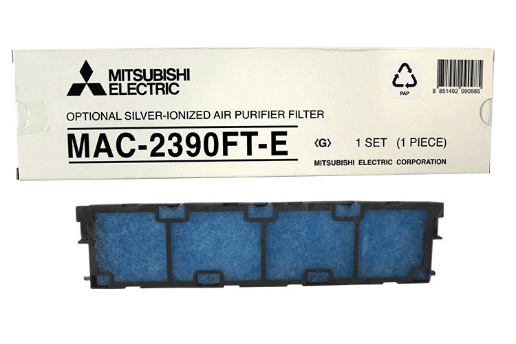 Mitsubishi Electric MAC-2390FT-E Silver-ionized air purifier filter LN-malleihin