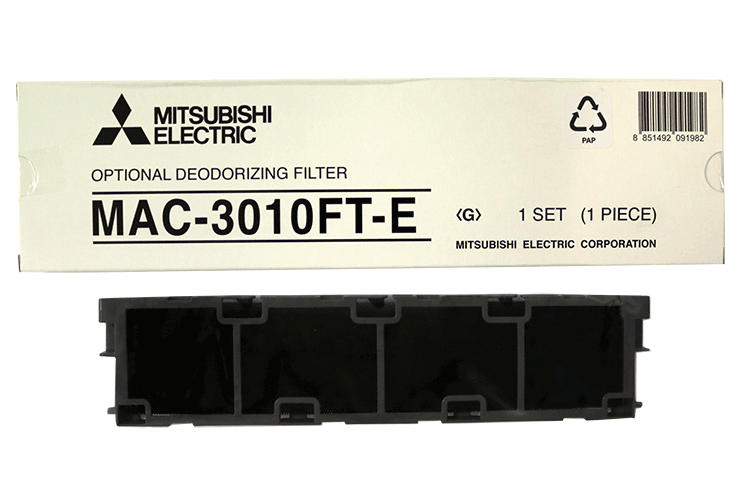 Mitsubishi Electric MAC-3010FT-E Deodorizing filter LN-malleihin